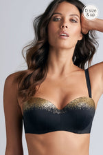 Marlies Dekkers Isthar Straples Bikini Top 35360 Black And Egyptian