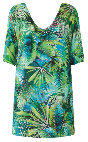 Nuria Ferrer Beach Dress Jungle 12312 Unico