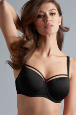 Space Odyssey Balcony Bra 164501 black