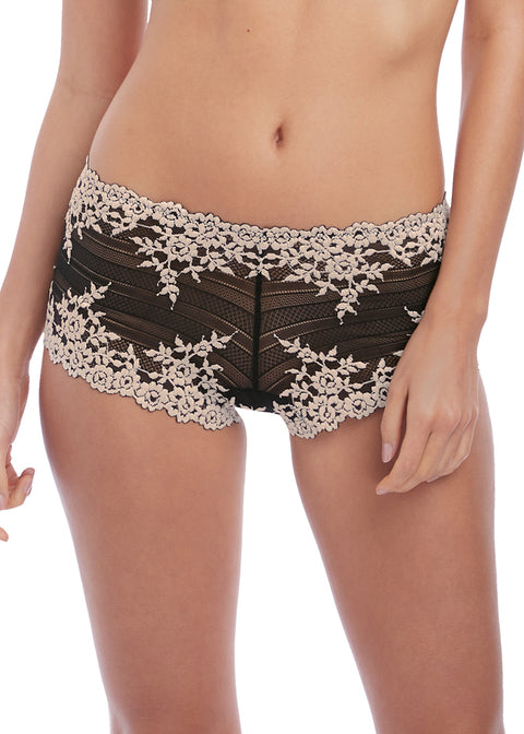 Wacoal Embrace Lace Short WA067491 black