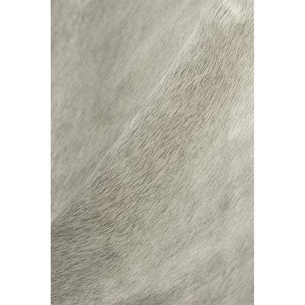 "72"" x 84"" Natural and Light Gray Cowhide  Area Rug"