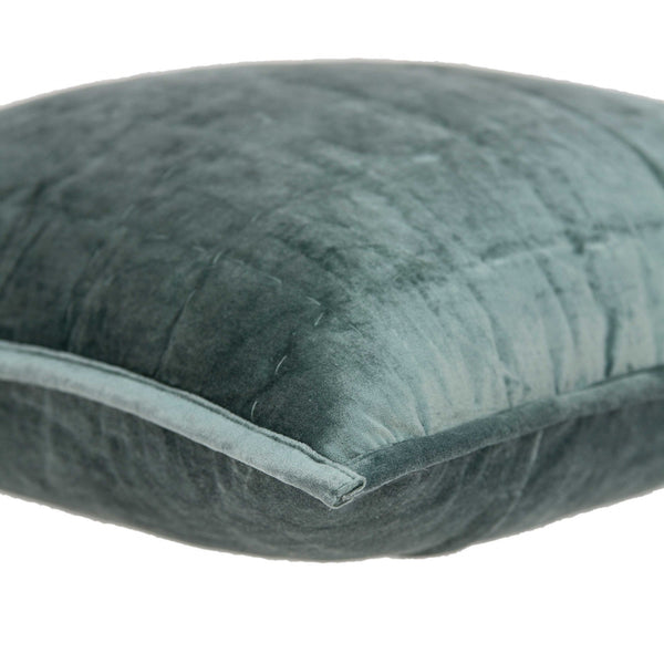 Super Soft Sea Foam Solid Quilted Pillow Cover