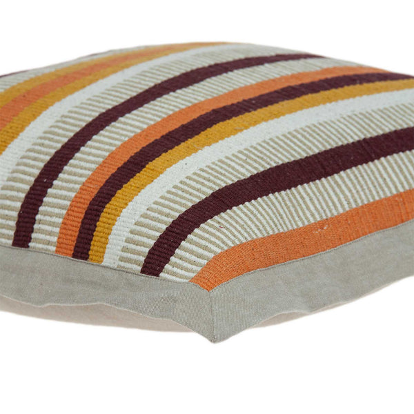 "20"" x 0.5"" x 20"" Transitional Multicolor Pillow Cover"