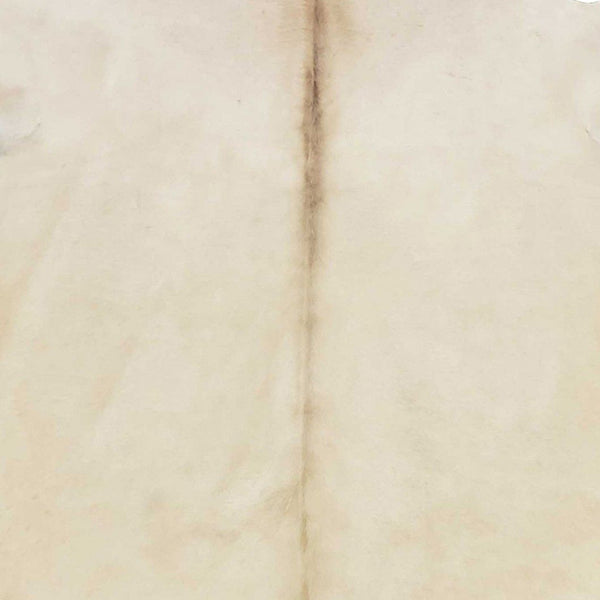 6.5 Ft  Champagne Brindled Cowhide Rug