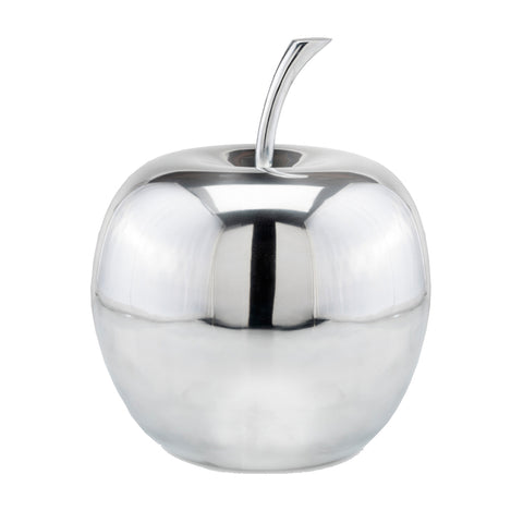 "12"" x 12"" x 13"" Buffed Extra Large Polished Apple"