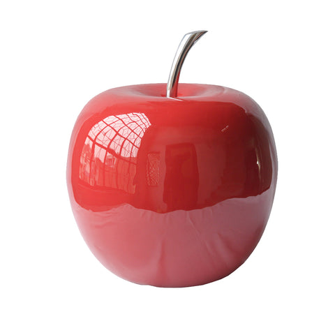 "10"" x 10"" x 11"" Buffed & Red Extra Large Apple"