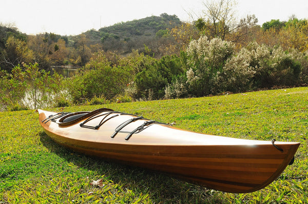 "23"" x 206"" x 13"" Wooden Kayak 1 person"