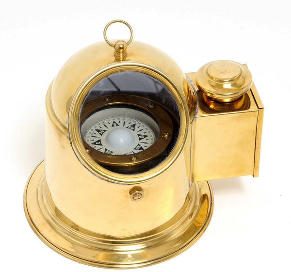 "7.25"" x 9"" x 7"" Binnacle Compass Large"
