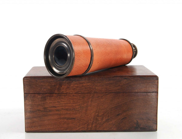 "2.25"" x 16"" x 2.25"" Handheld Telescope in Wood Box"