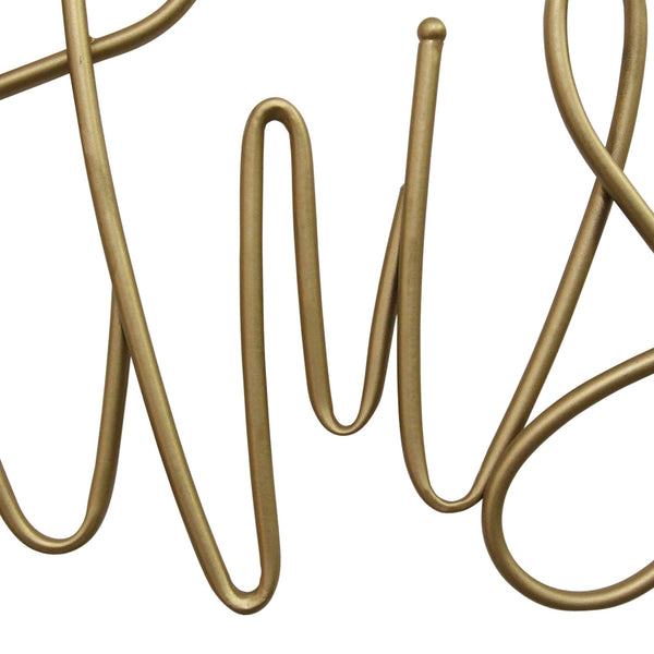 """This Is Us"" Metal Script Wall Decor"