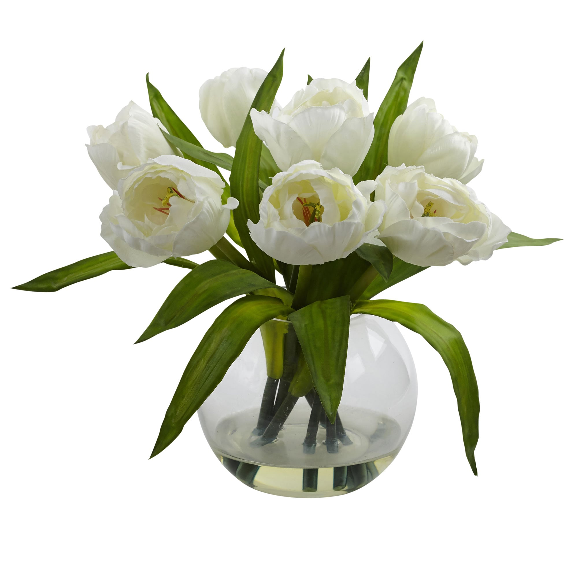 Tulips Arrangement W/Vase