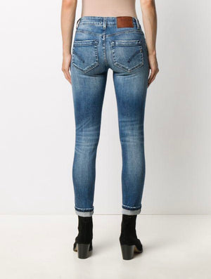 DONDUP Iris Mid Rise Skinny jeans