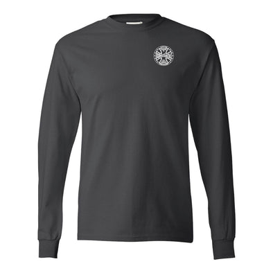 WHITLOCK MEN'S LONG SLEEVE CROSS LOGO