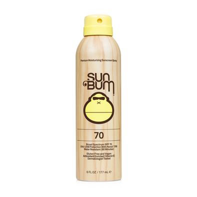 SUN BUM SPF 70 SPRAY 6 OZ