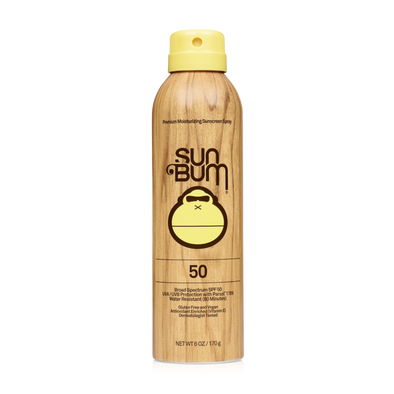SUN BUM SPF 50 SPRAY 6 OZ