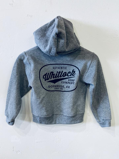 WHITLOCK YOUTH PULLOVER HOODY - AUTHENTIC LOGO