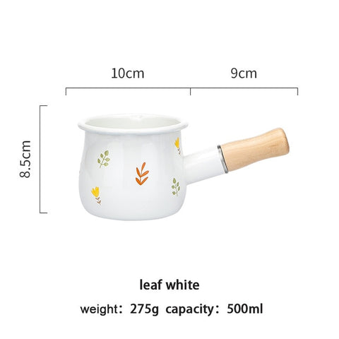 500ml Enamel Milk Pot
