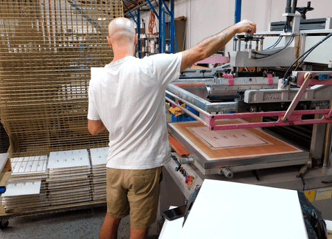 Adjusting the squeegee pressure can improve print quality