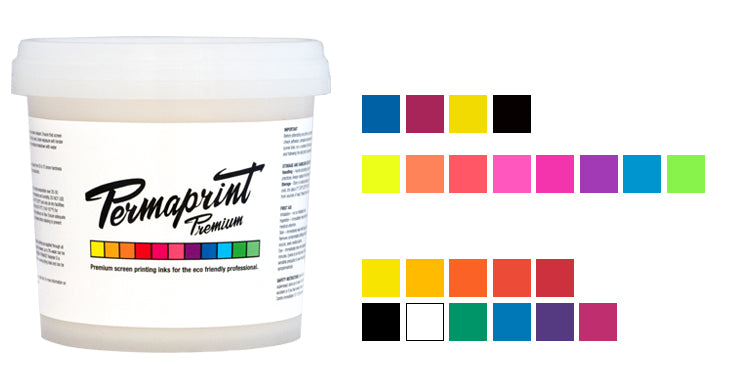 PERMAPRINT PREMIUM water-based eco-friendly inks for paper, plastic, glass and wood