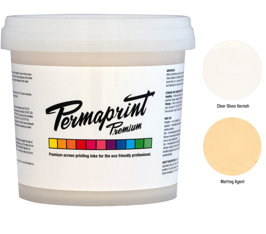 PERMAPRINT Premium Water-Based Gloss and Matt finishes for paper and other substrates