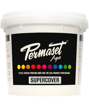 PERMASET SUPERCOVER water-based opaque screen printing inks for dark fabrics