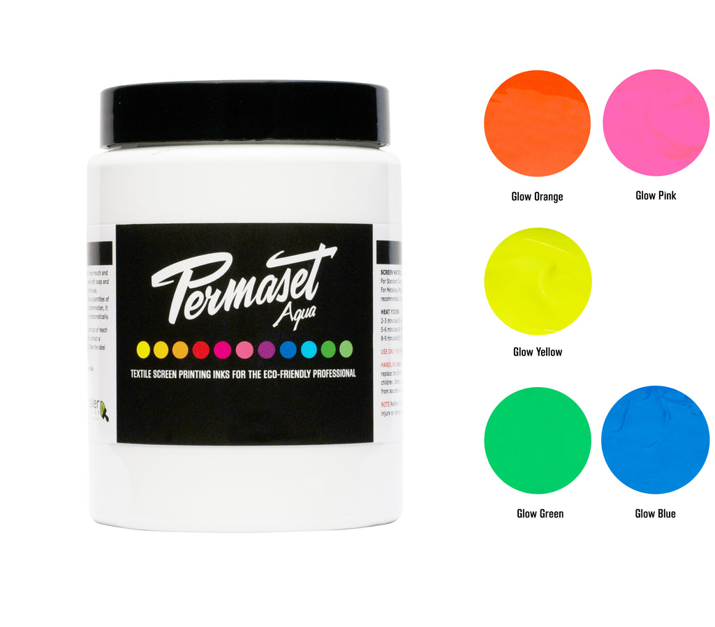 PERMASET AQUA 300 mL Glow colours trial kit for eco-friendly professionals