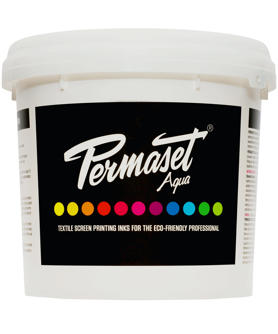 PERMASET AQUA, Textile Screen Printing Ink for Eco-Friendly Professionals