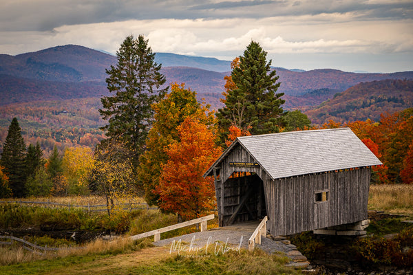 Fall foliage in Cabot, Vermont