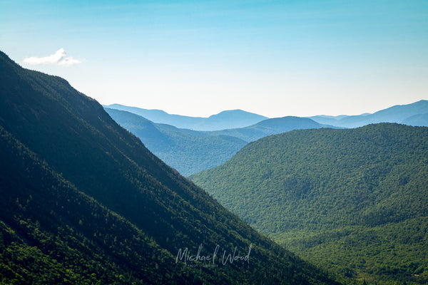 Crawford Notch in New Hampshire