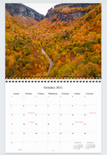 Load image into Gallery viewer, Michael Wood Photography 2021 Photo Calendar - Centerfold Spiral