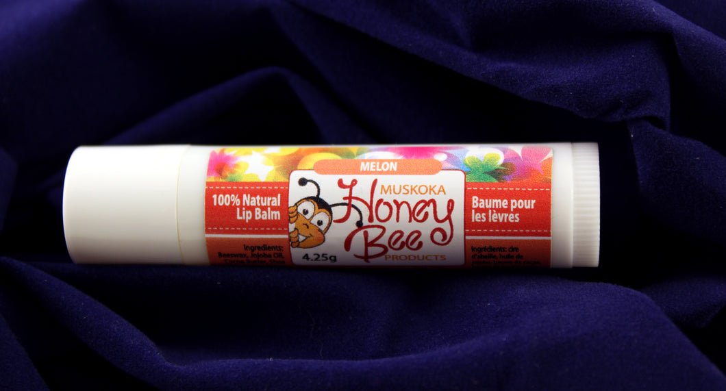Melon Flavoured Beeswax Lip Balm