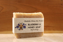 Load image into Gallery viewer, Blueberry & Honey Soap