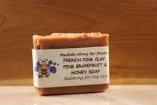 Load image into Gallery viewer, French Pink Clay, Pink Grapefruit & Honey Soap