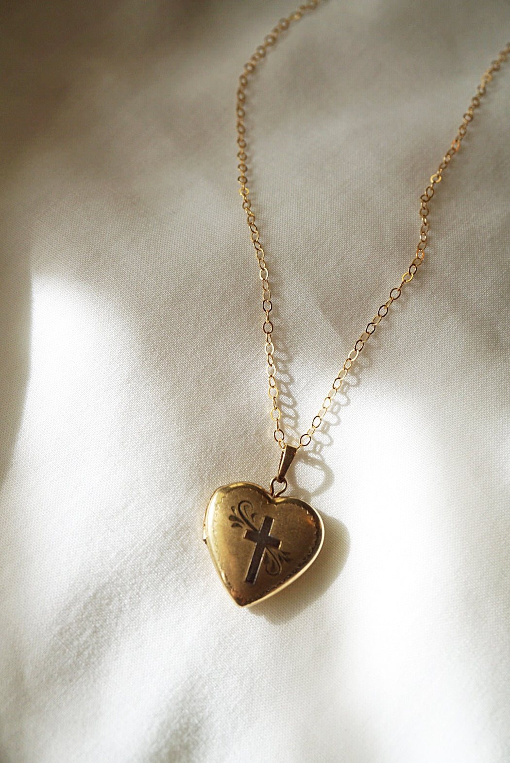 Vintage Cross Locket