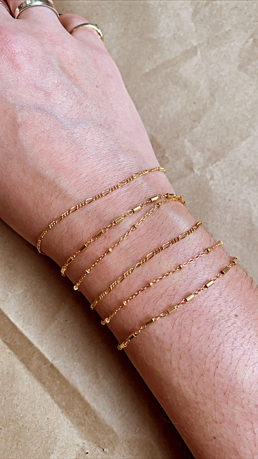 The 14k Gold Filled Bracelet Stack