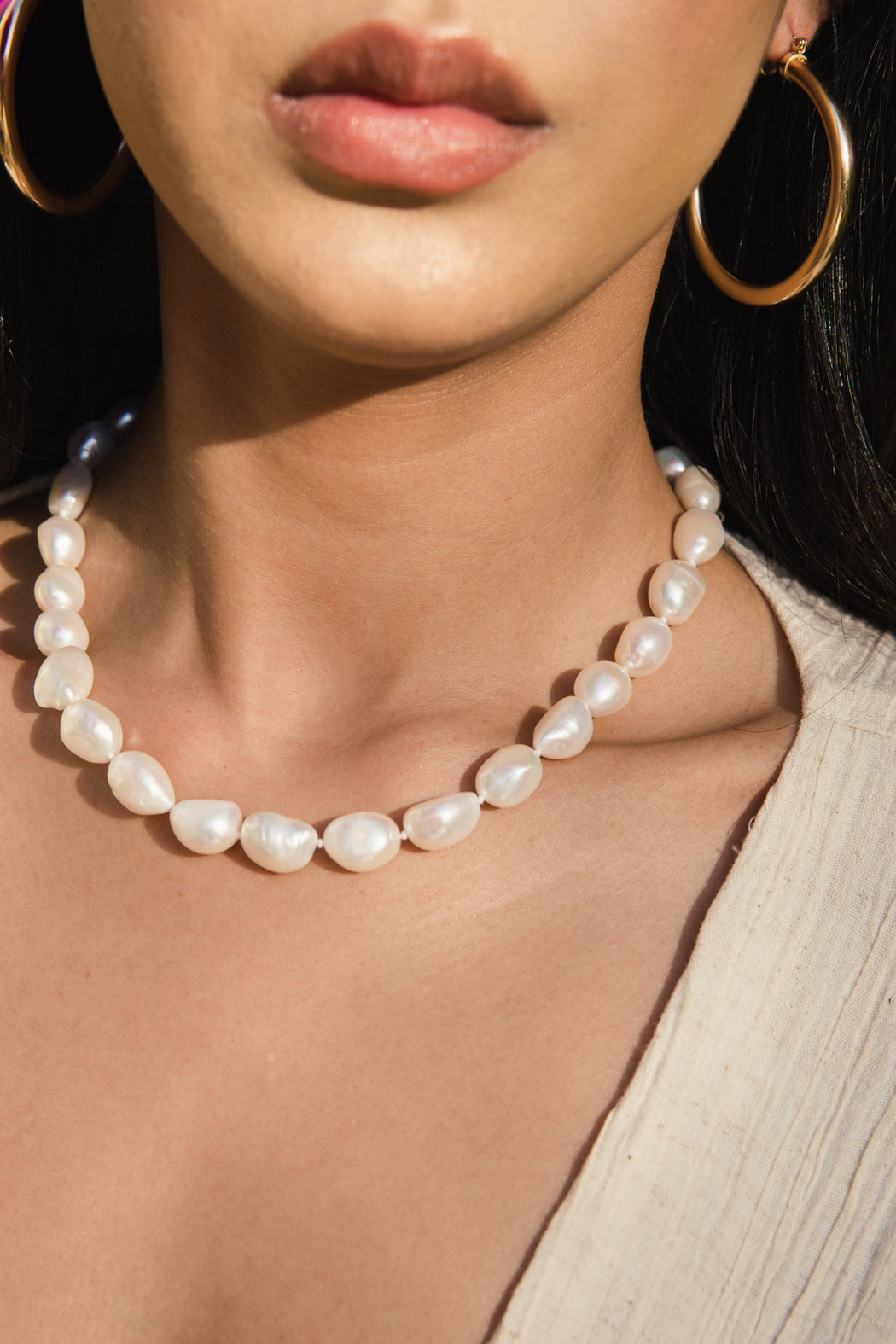 Mother of All Pearls Necklace