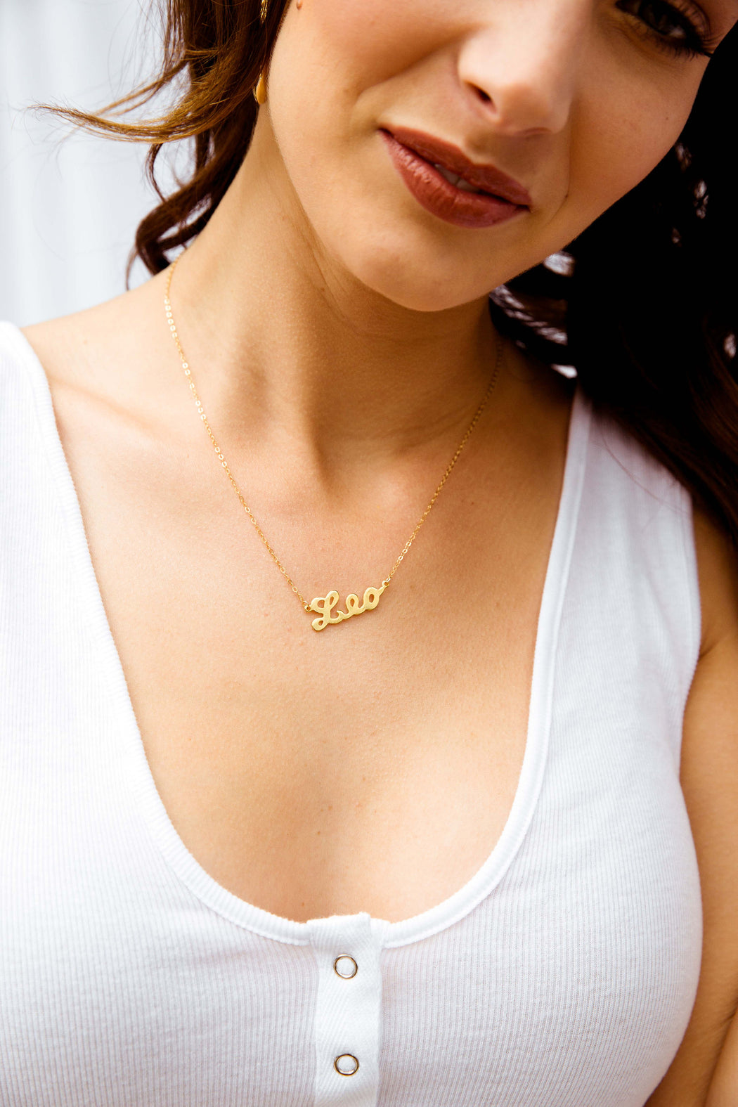 Star Sign Necklace - Leo
