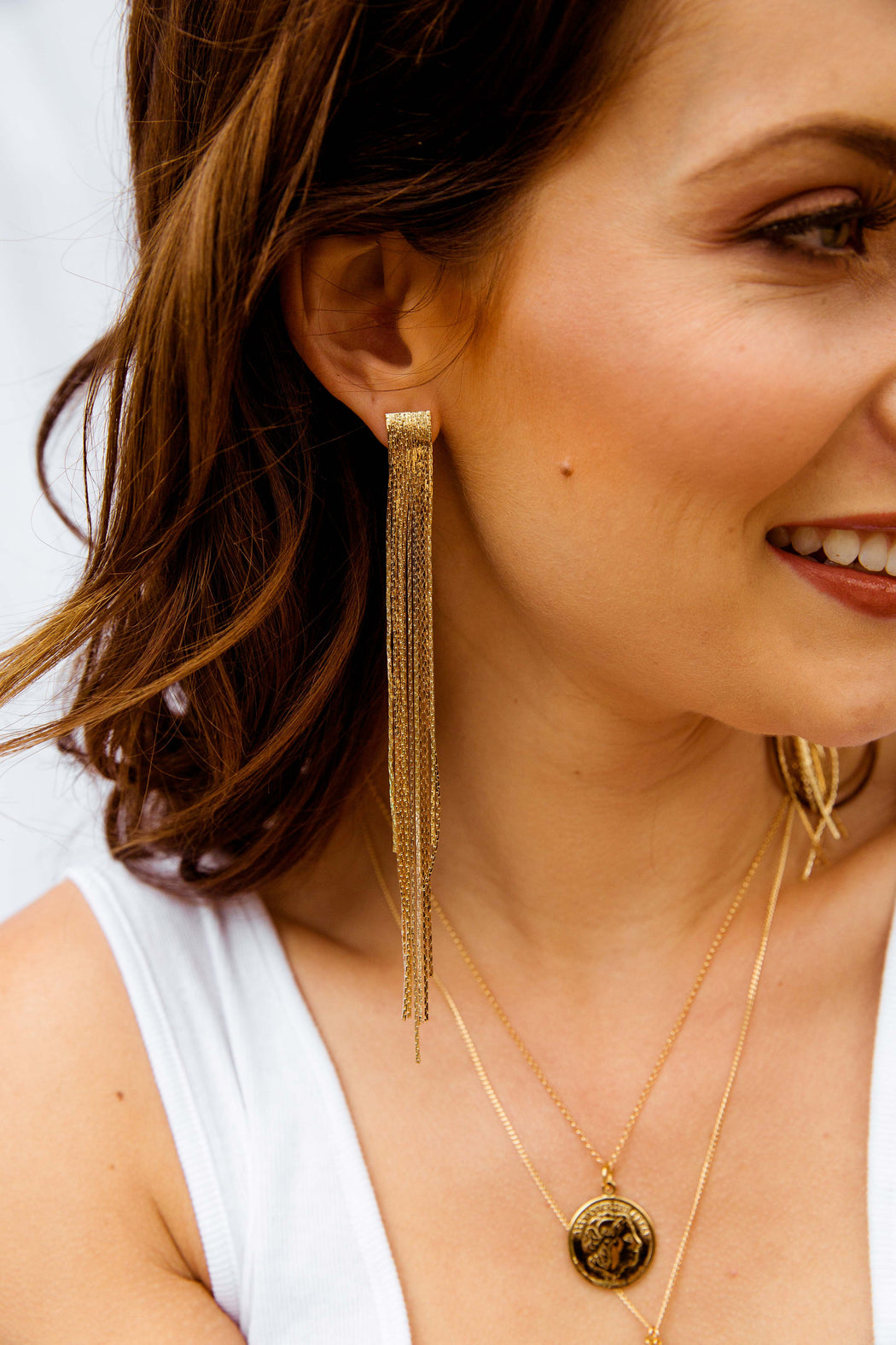 Lonny Fringe Earrings