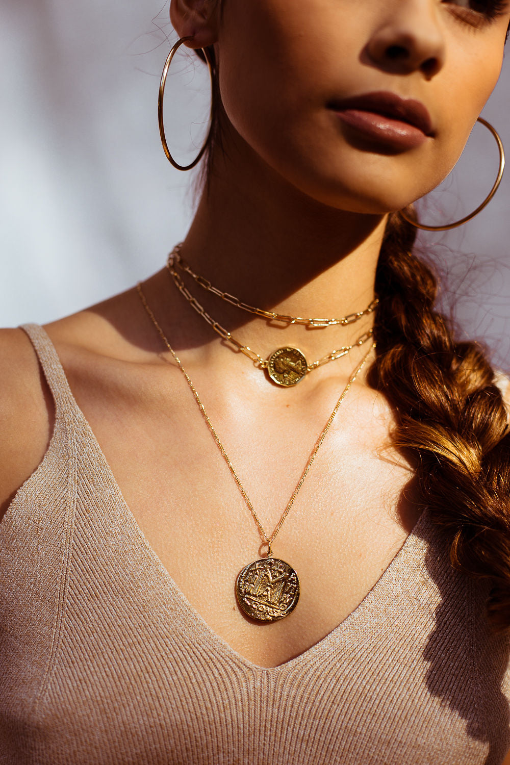 Carta Coin Necklace