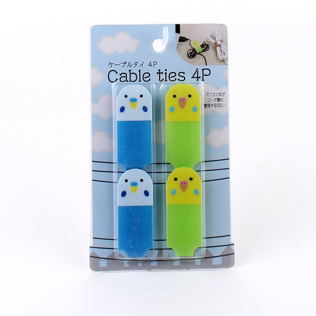 Cable Ties (Nylon/Sparrow/Nightingale*Parrot/4pcs)