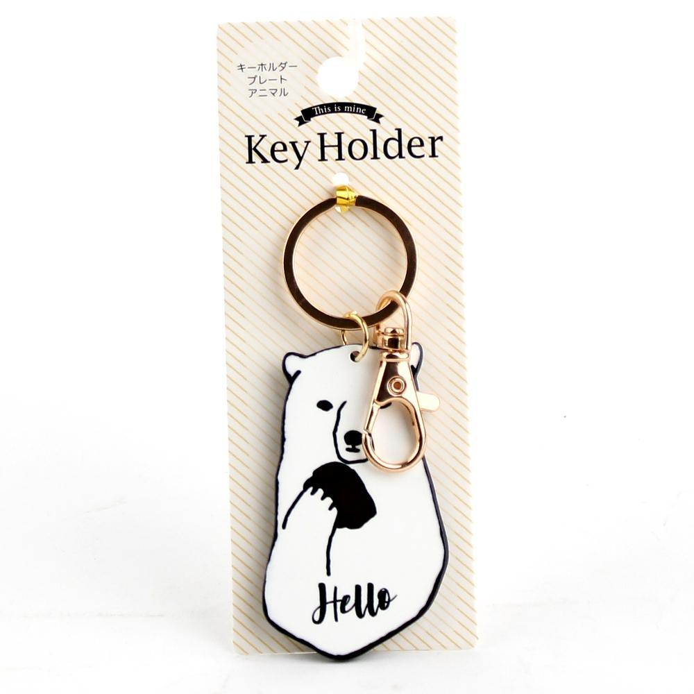 Key Chain (Acrylic Resin/Pig/Polar Bear/Panda/9.5cm)