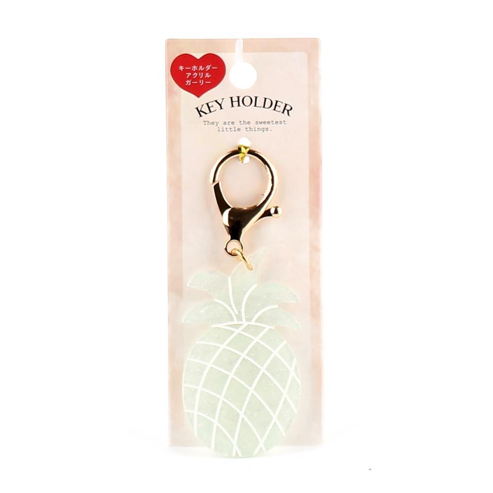 Key Chain (Acrylic Resin/Pineapple/Seashell/10cm)