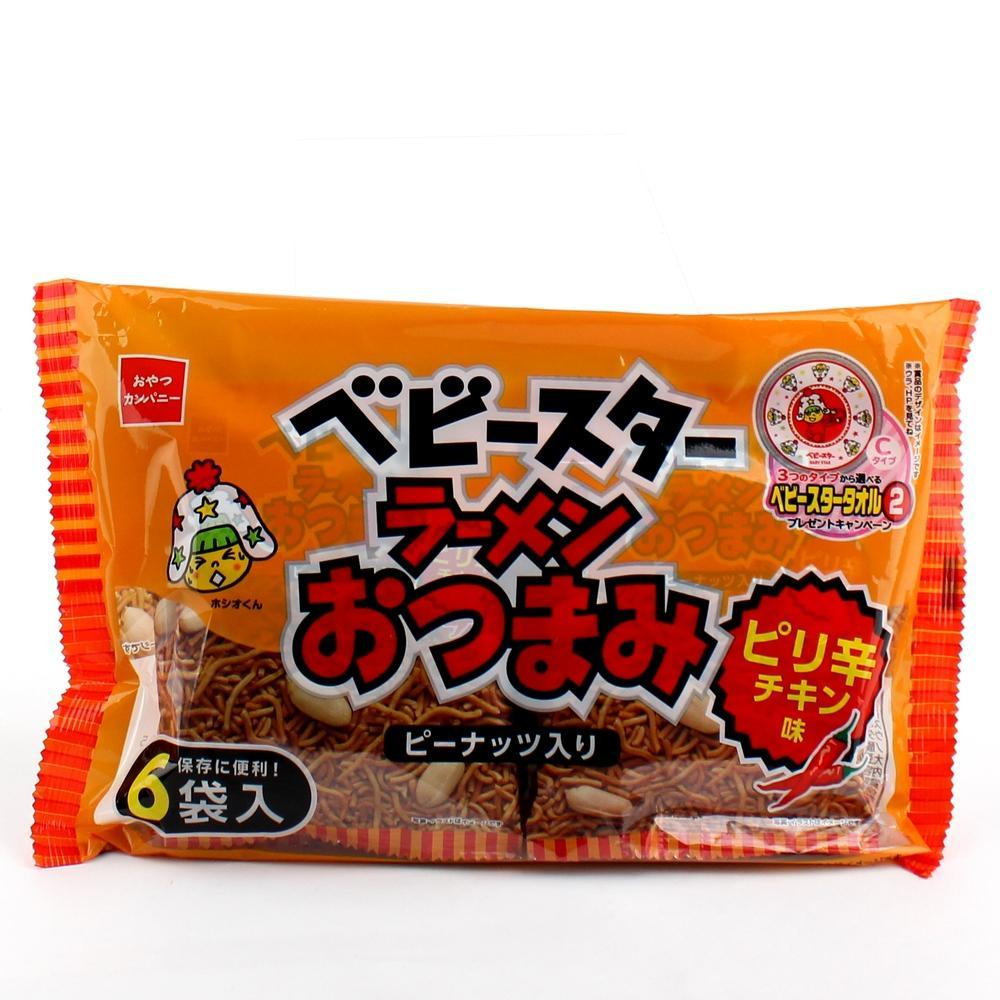 Chicken flavor 6P Spicy chicken 150g