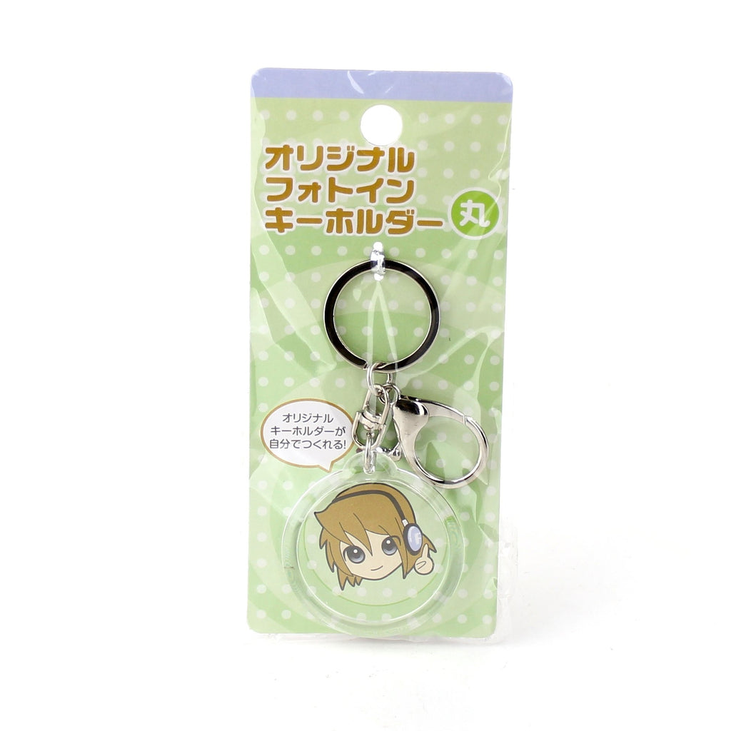 Oomomo Key Chain (Acrylic Resin/Photo/Round/d.4.7cm)