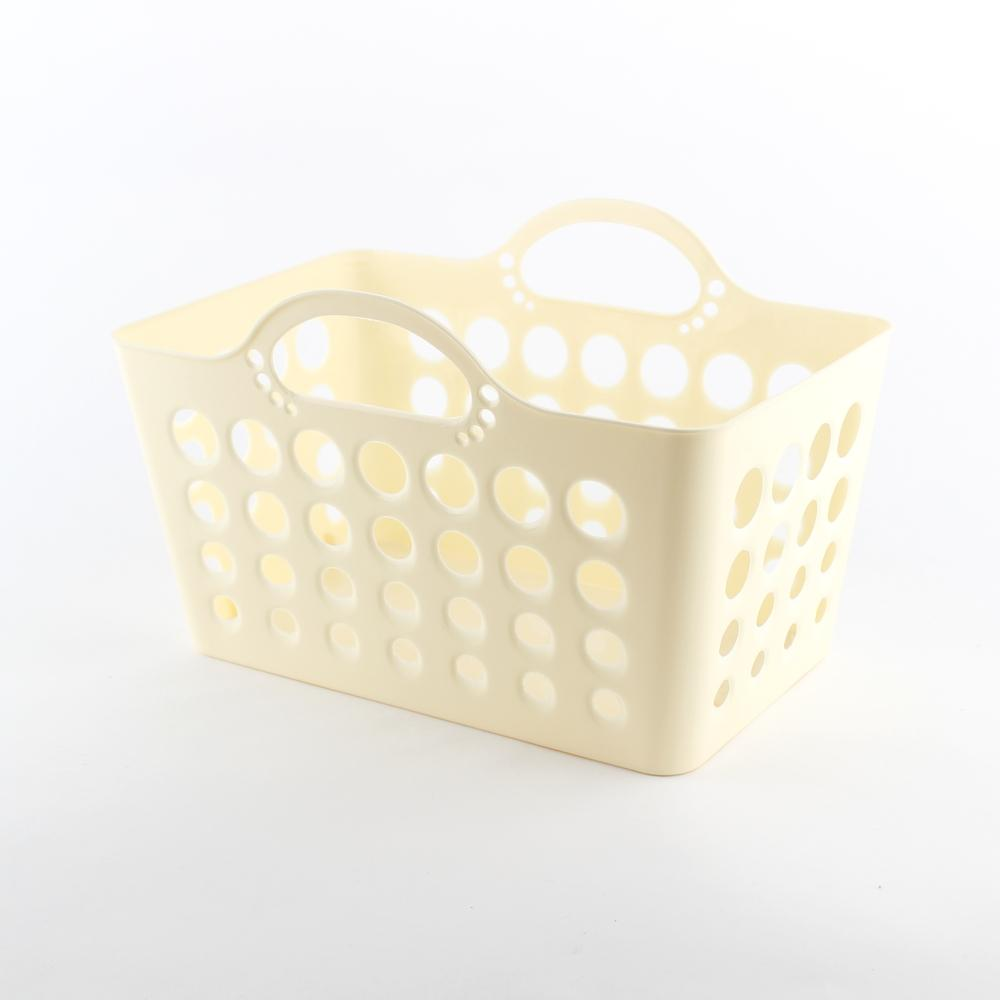 Basket w/ Handle (Soft/Rct/WT/27�E¿½~18�E¿½~16.9cm)