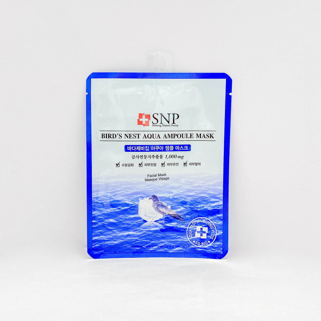 Face Sheet Mask (Snp Bird'S Nest Aqua Ampoule Mask / 1Pc)
