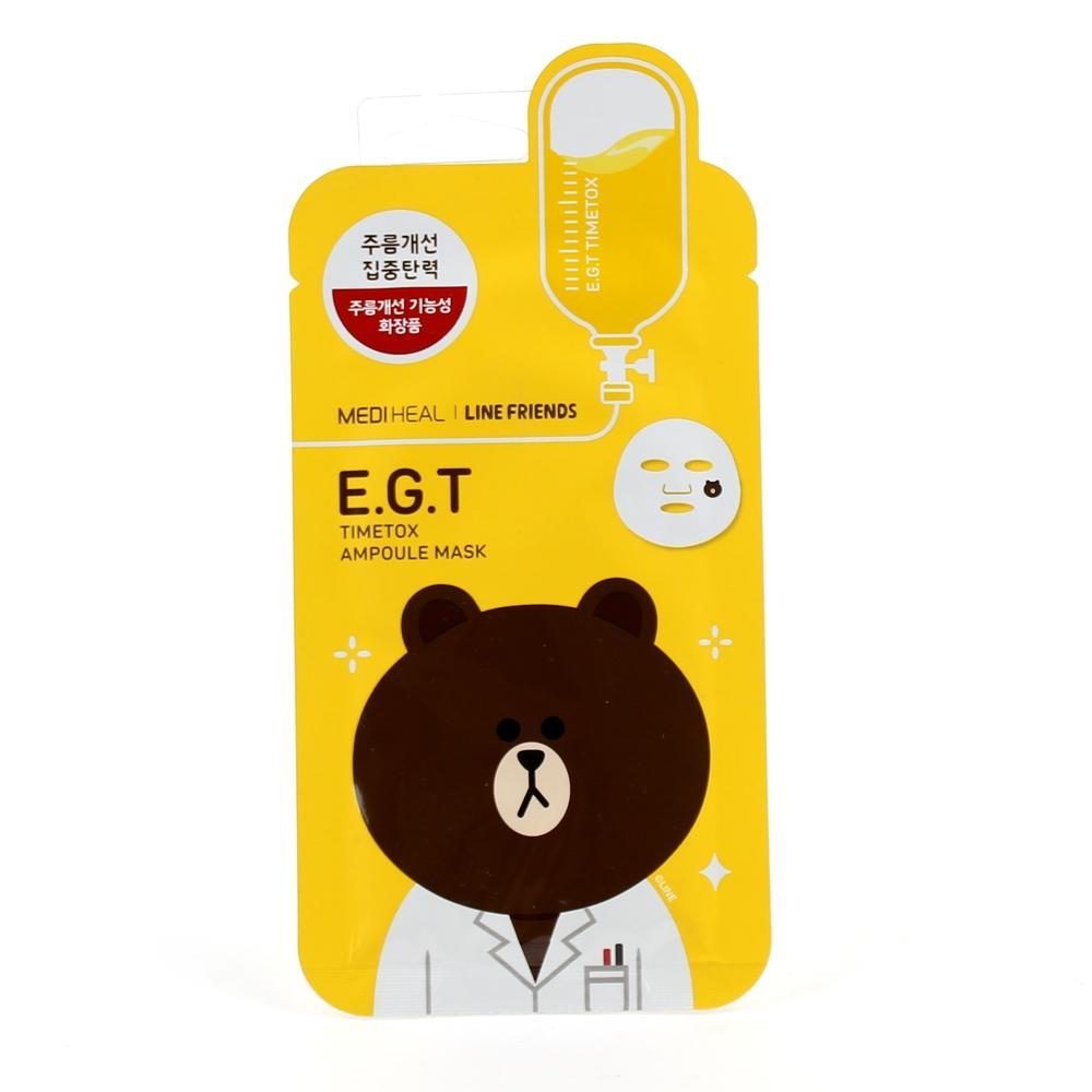 MEDIHEAL Line Friends E.G.T Timetox Ampoule Mask  (25ml)