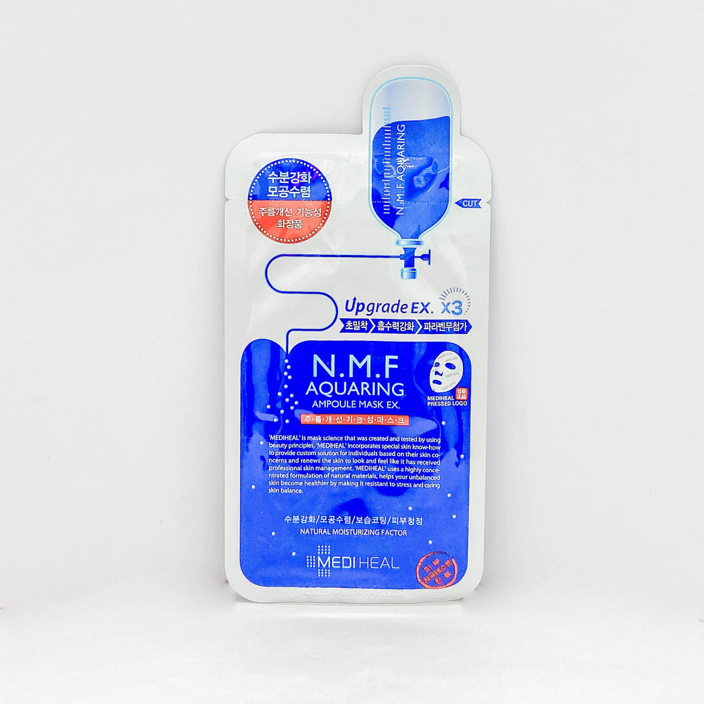 Face Sheet Mask (Mediheal N.M.F Aquaring Ampoule Mask / 1Pc)