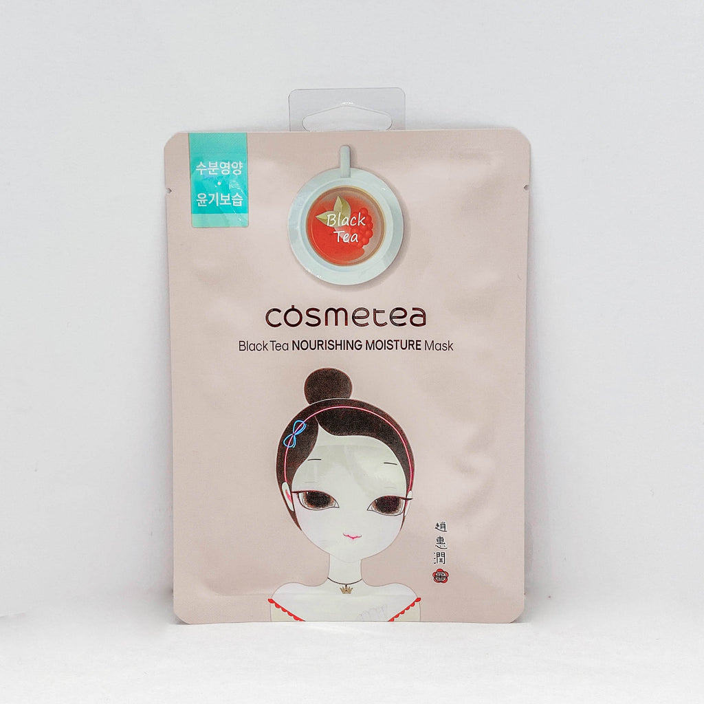Cosmetea  Black Tea Nurising Moisture Mask  (30Ml)