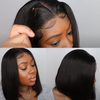 Straight Bob Human Hair Wigs 4X4 Lace Closure Bob Wigs Straight Short Bob Wig HAIR Malaysian Lace Frontal Human Hair Wigs